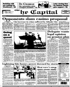 Annapolis Capital, July 25, 1995, Page 1