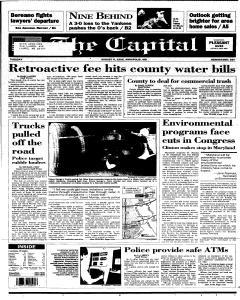 Annapolis Capital, August 08, 1995, Page 1