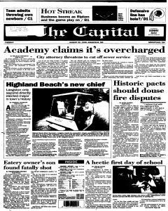 Annapolis Capital, August 29, 1995, Page 1