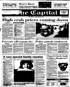 Annapolis Capital, September 01, 1995, Page 1