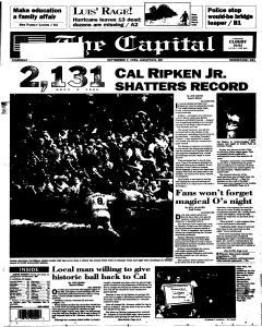 Annapolis Capital, September 07, 1995, Page 1