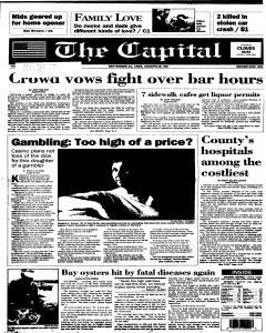 Annapolis Capital, September 21, 1995, Page 1