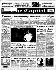 Annapolis Capital, October 02, 1995, Page 1