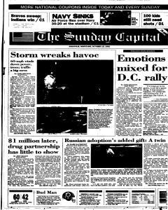 Annapolis Capital, October 15, 1995, Page 1