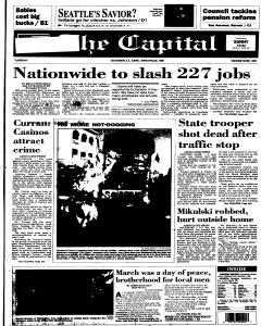 Annapolis Capital, October 17, 1995, Page 1