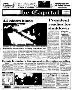 Annapolis Capital, November 10, 1995, Page 1