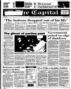 Annapolis Capital, December 16, 1995, Page 1