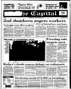 Annapolis Capital, December 18, 1995, Page 1