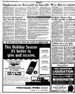 Annapolis Capital, December 22, 1995, Page 4