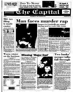 Annapolis Capital, December 22, 1995, Page 1