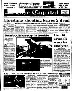 Annapolis Capital, December 26, 1995, Page 1