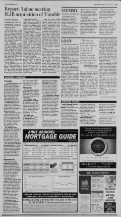 Annapolis Sunday Capital, May 19, 2013, Page 50