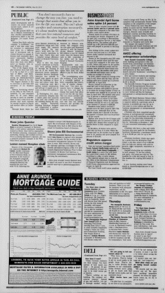 Annapolis Sunday Capital, May 26, 2013, Page 8