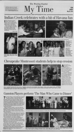 Annapolis Sunday Capital, May 26, 2013, Page 65