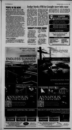 Annapolis Sunday Capital, June 02, 2013, Page 5