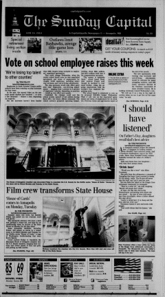 Annapolis Sunday Capital newspaper archives
