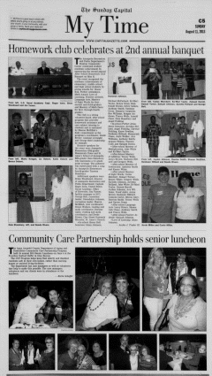 Annapolis Sunday Capital, August 11, 2013, Page 25