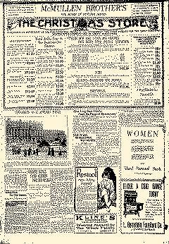 Cumberland Evening Times, November 11, 1918, Page 1