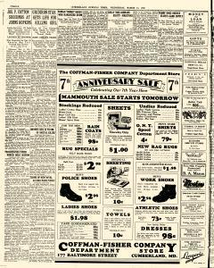Cumberland Evening Times, March 11, 1931, Page 8