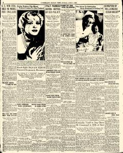 Cumberland Times, June 09, 1935, Page 1
