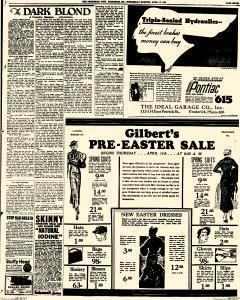 Frederick News Post, April 10, 1935, Page 7
