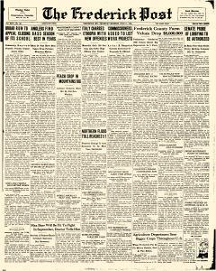 Frederick News Post, July 11, 1935, Page 1