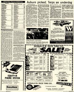 Frederick News Post, September 12, 1985, Page 22