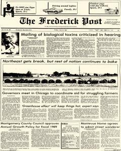Frederick News Post, June 24, 1988, Page 1
