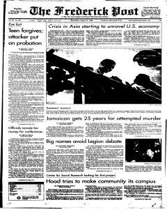 Frederick News Post, August 12, 1998, Page 1