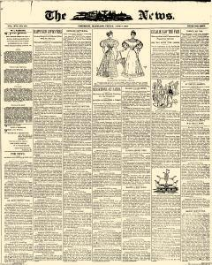 News, June 09, 1893, Page 1
