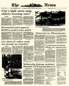 News, February 26, 1976, Page 1