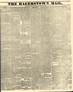 Hagerstown Mail, January 04, 1839, Page 1