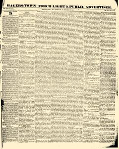 Hagers Town Torch Light And Public Advertiser, February 19, 1846, Page 1