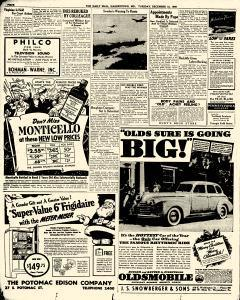 Hagerstown Daily Mail, December 12, 1939, Page 4