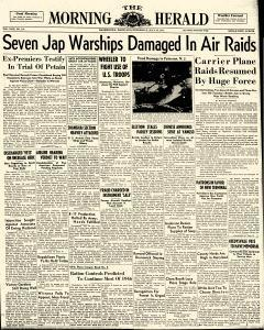 Hagerstown Morning Herald, July 25, 1945, p. 1