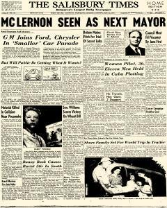 Salisbury Times, May 23, 1959, Page 1
