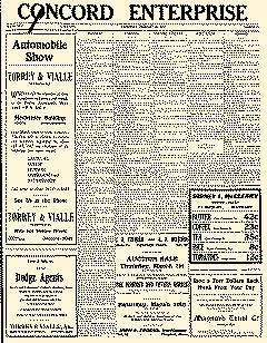 Acton Concord Enterprise, February 28, 1917, Page 1