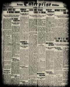 Acton Enterprise, February 28, 1934, Page 9
