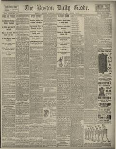 Boston Daily Globe, October 24, 1887, Page 1