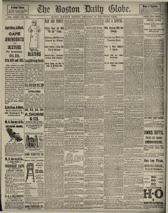 Boston Daily Globe, December 15, 1888, Page 1