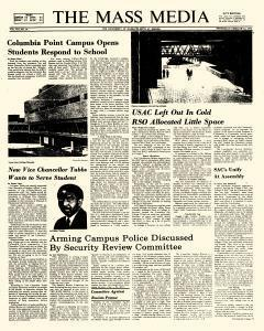 Mass Media, February 06, 1974, Page 1