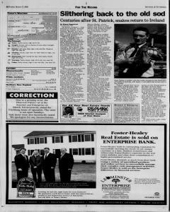 Fitchburg Sentinel and Enterprise, March 17, 2002, Page 4