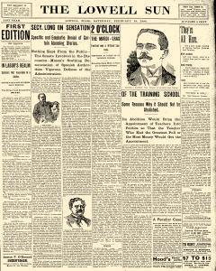 Lowell Sun, February 19, 1898, Page 1