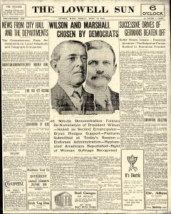 Lowell Sun, June 16, 1916, Page 1