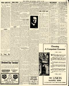 Lowell Sun, August 22, 1927, Page 3