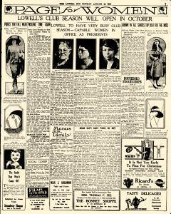 Lowell Sun, August 22, 1927, Page 7