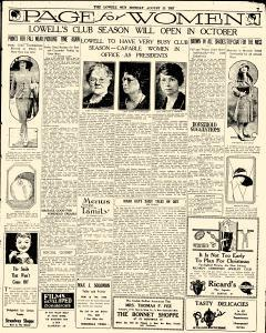 Lowell Sun, August 22, 1927, Page 21