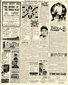 Lowell Sun, August 22, 1927, Page 23
