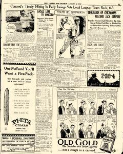 Lowell Sun, August 22, 1927, Page 25
