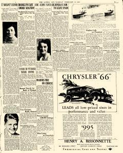 Lowell Sun, February 18, 1930, Page 9